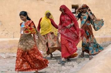 Rajasthani women, Jaipur, Andy Craggs 2009