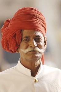 Palace guard, Jaipur, Andy Craggs 2009