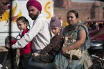 Commuter family, Delhi, Steven Lee 2009