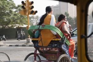 Delhi commuters, Steven Lee 2009