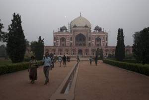Humayun's Tomb at dusk, Delhi, Steven Lee 2009