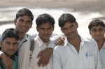 Delhi students, Andy Craggs 2009