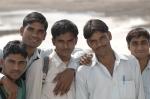 Delhi students, Andy Craggs 2009