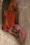 Women in balcony, Jaipur, Andy Craggs 2009