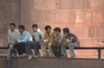 At the Red Fort, Delhi, Andy Craggs 2009