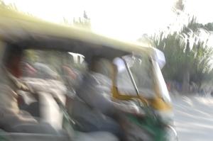 Auto rickshaw, Delhi, Andy Craggs 2009