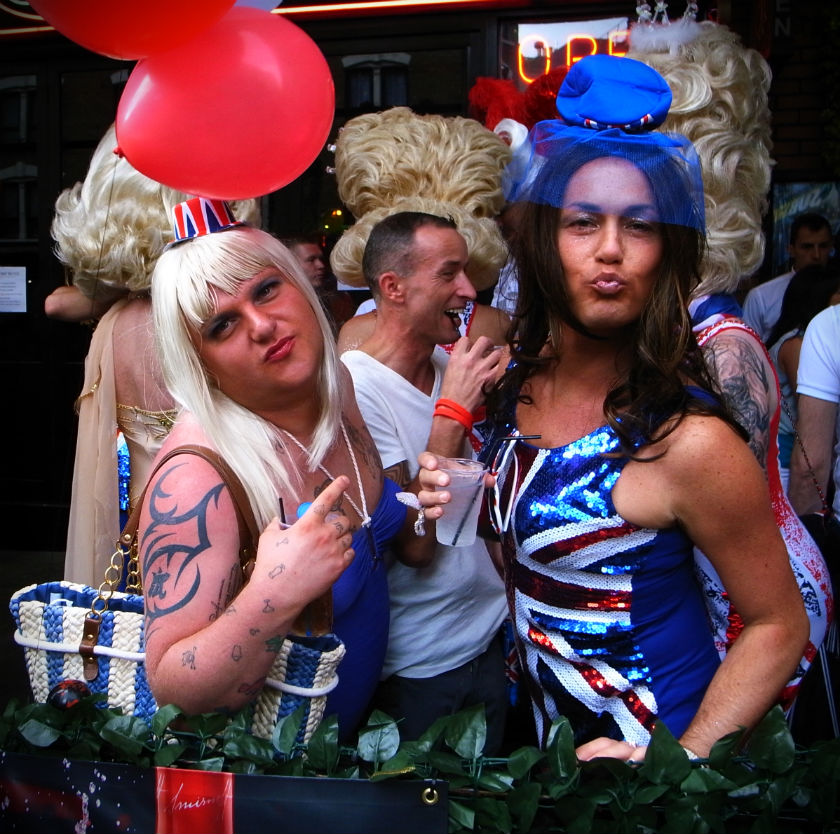 PRIDE, Soho, London