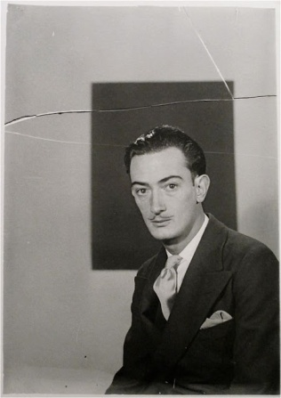Man ray portraits dali